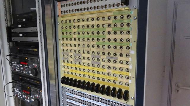 Zentraler Geräteraum (ZGR) bei SCHWARTZKOPFF TV (Hamburg)