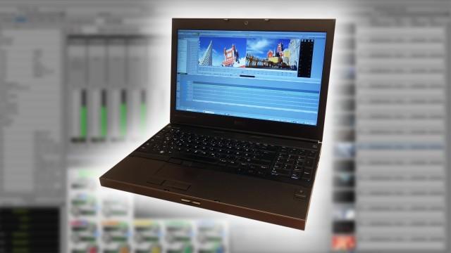 Verleih Schnittsystem AVID PC Notebook 2